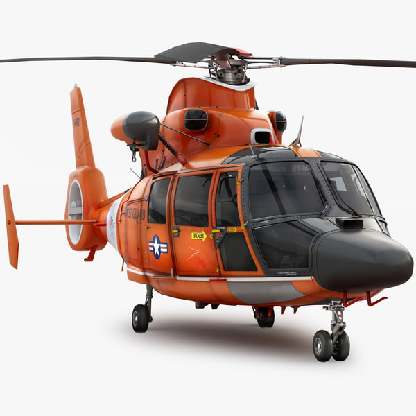 3d model eurocopter 365 u s