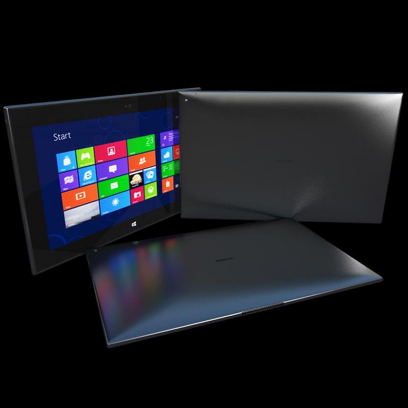 realistic nokia lumia 2520