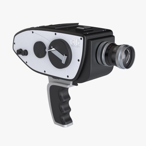 3ds max photoreal digital camera bolex