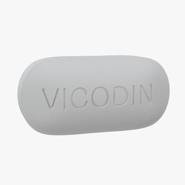 vicodin pill