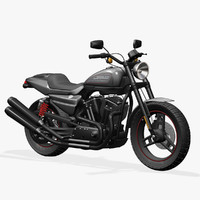 3d model harley davidson xr1200