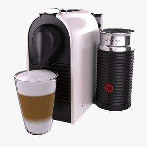 nespresso umilk krups 3d 3ds