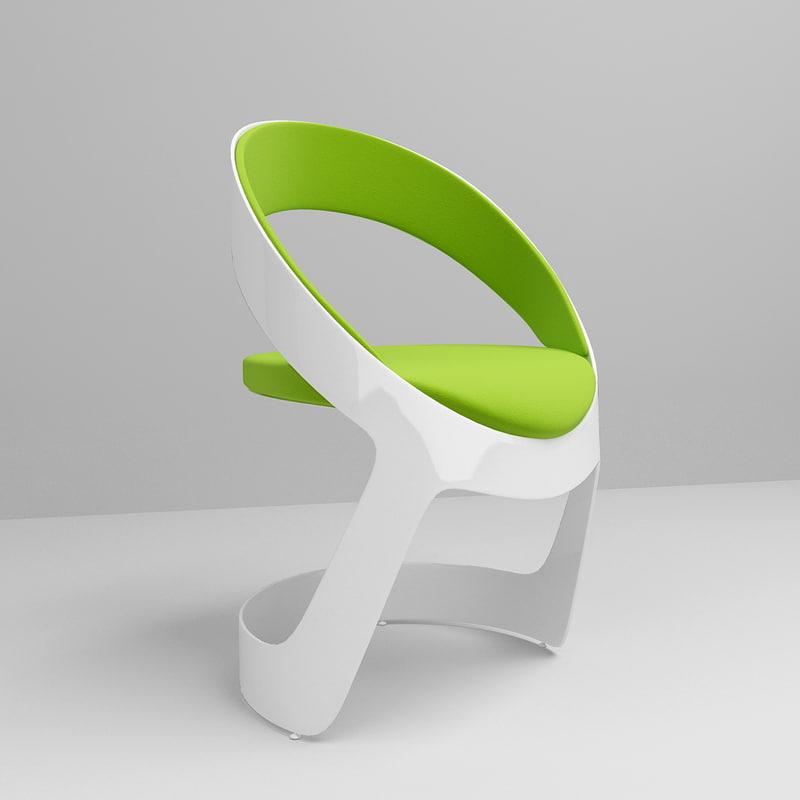 3d model martz edition chair