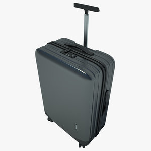 suitcase samsonite case 3d model