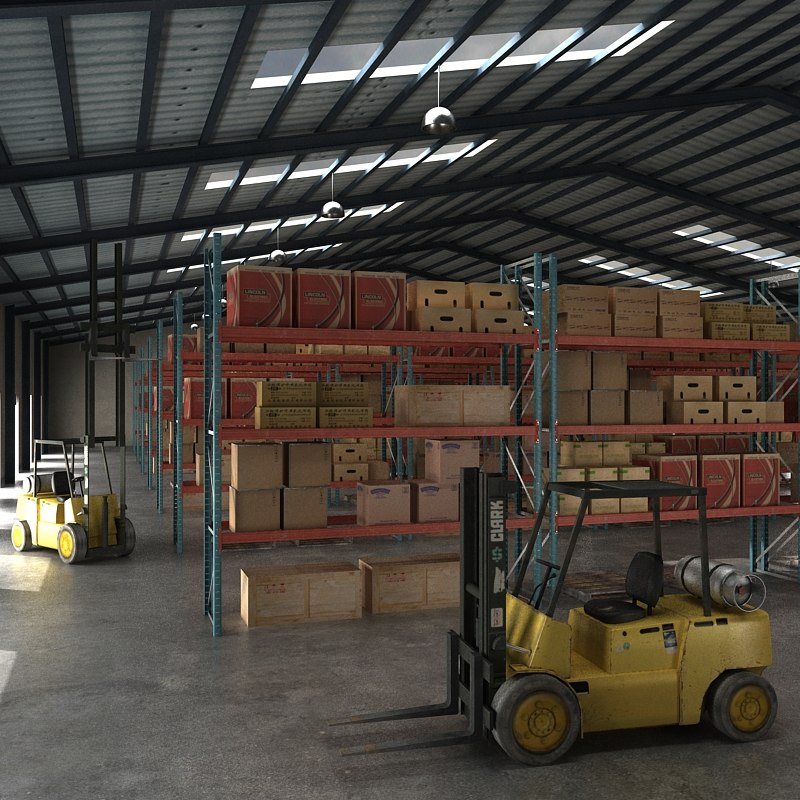 warehouse forklift truck max