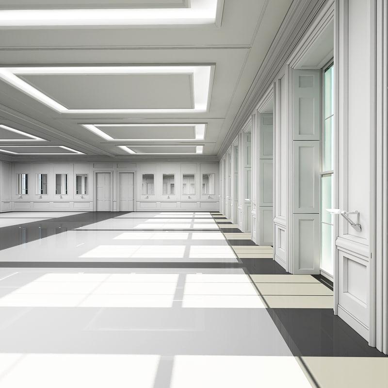 3ds classic interior scene 2014