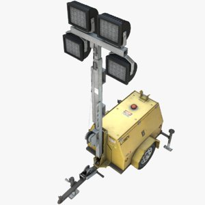 3dsmax light tower