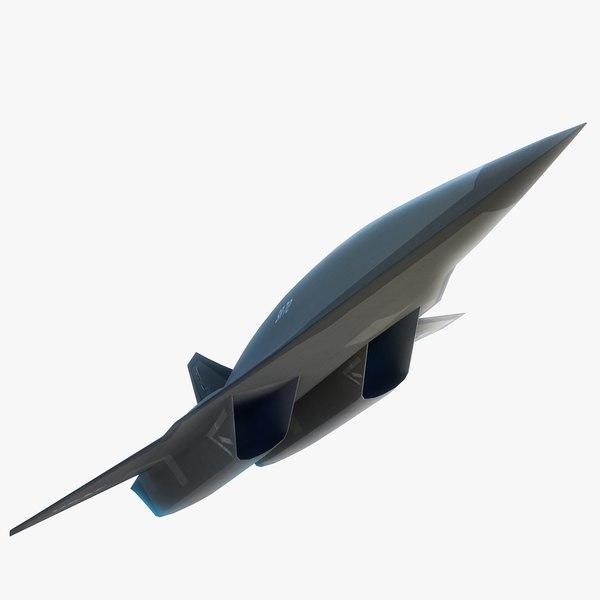 3d model lockheed martin sr-72