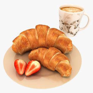 max croissant coffee