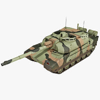 AMX-56 Leclerc France Main Battle Tank 2