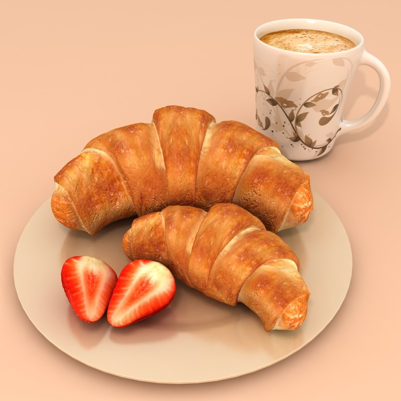 max croissant coffee