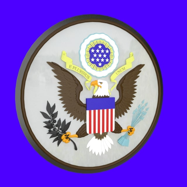 state seal usa 3ds