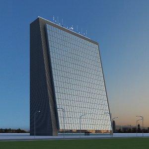 3d model new skyscraper 61