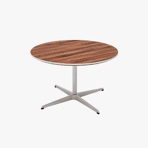 3ds max tables designed arne