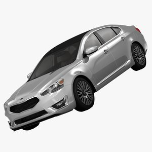 kia cadenza limited luxury 3d model