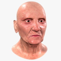 Old Woman - Head