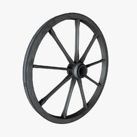 Wood Wheel Old