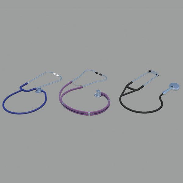 doctor stethoscopes 3d model