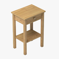 drawer bedside 3d model