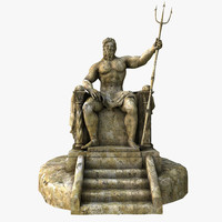 Poseidon Statue