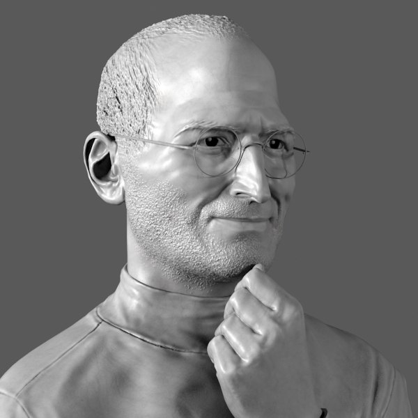 decorative bust steve jobs ma