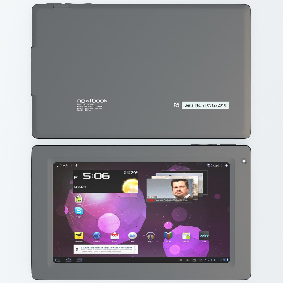 efun nextbook tablet