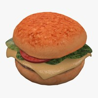 3ds hamburger burger