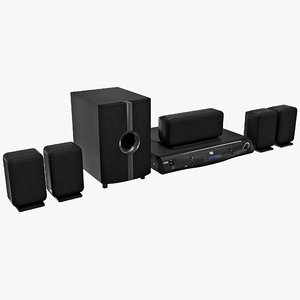 max home theater coby set