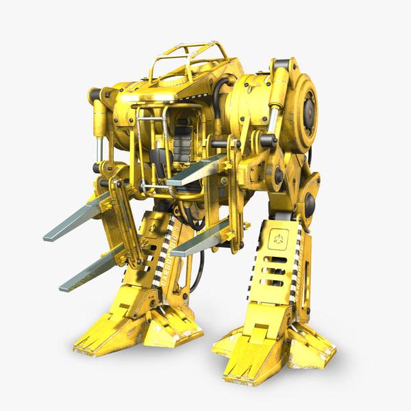 3d model of exoskeleton exo