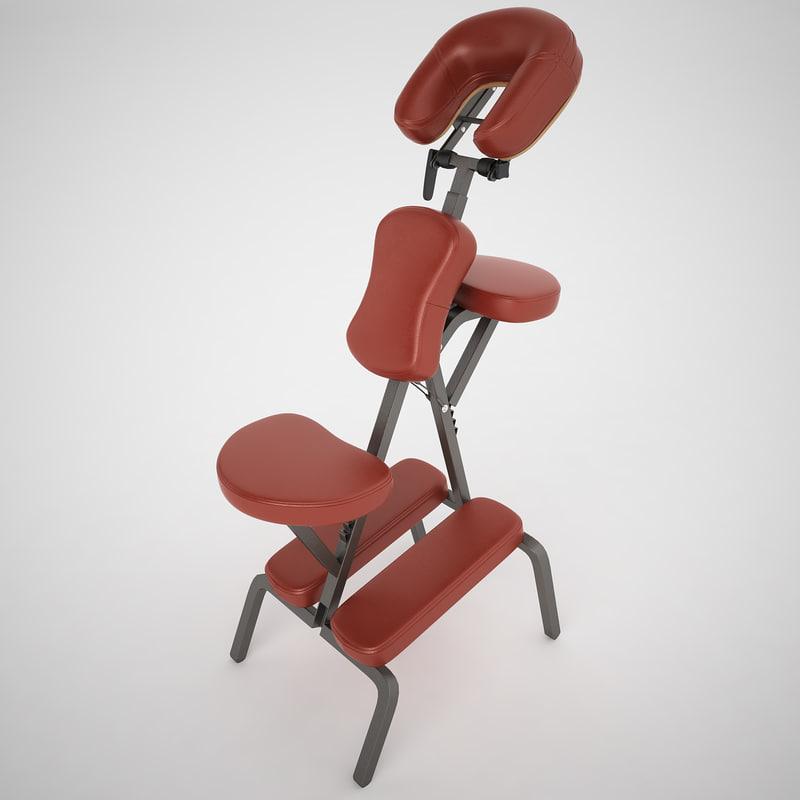 bedford massage chair 3ds
