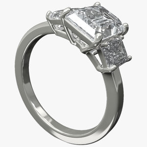 ring jewelry accessories 3d model