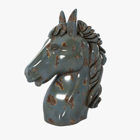 Decorative Horse Head