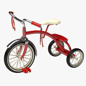 3d tricycle toy