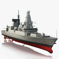 Destroyer HMS Diamond D34 Type 45