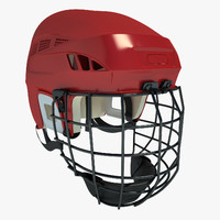 Ice Hockey Helmet 01