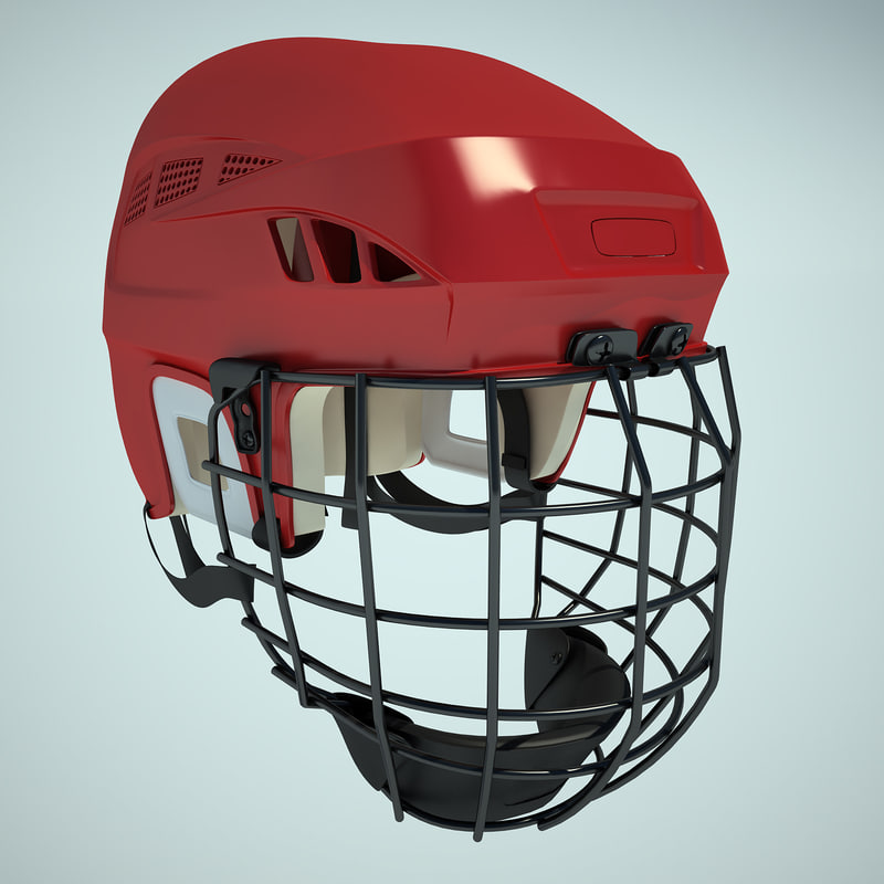 3ds max ice hockey helm