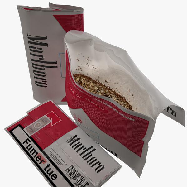 tobacco package camel 3d c4d