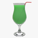 margarita glass 3D models