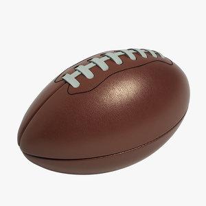 football ball retro 3d 3ds