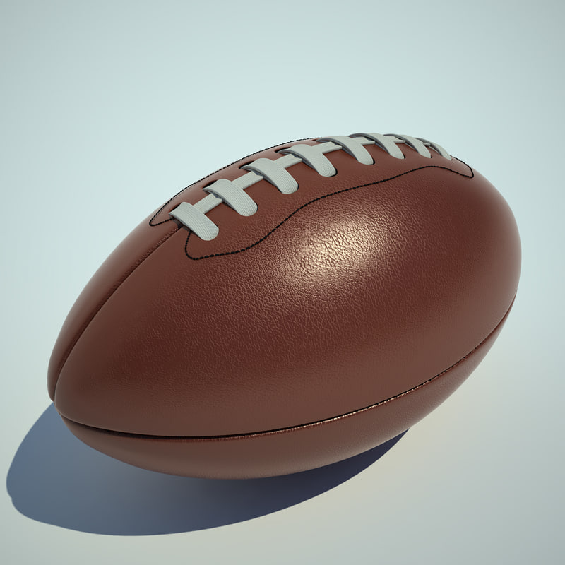 football ball retro 3d 3ds