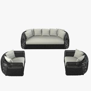 max kenneth cobounpue matilda sofa set