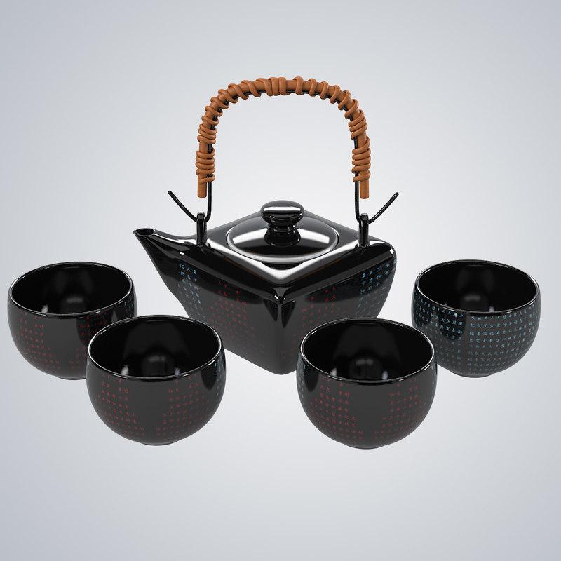 max chinese tea set