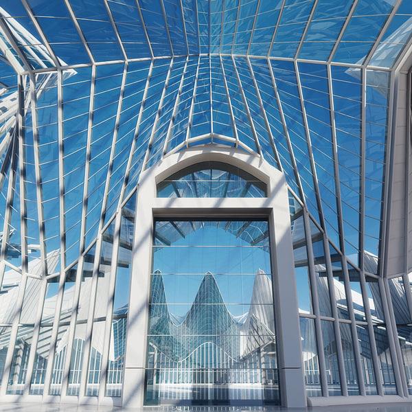 max form architectural interior