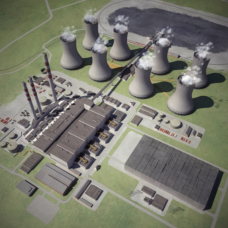 Coal Fired Thermal Power Station Obj