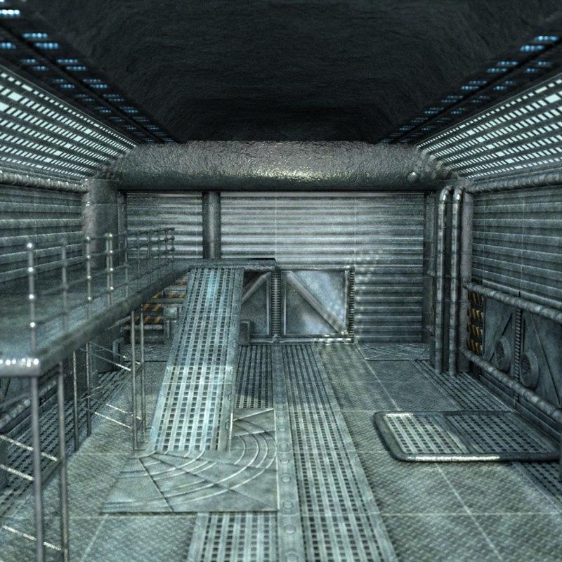 bunker 3d obj