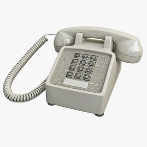 max traditional retro corded phone
