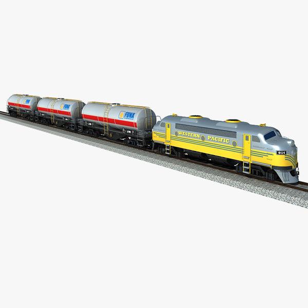 3d model of oil tank