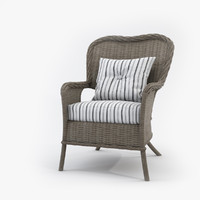 Wicker Chair Byholma Marieberg