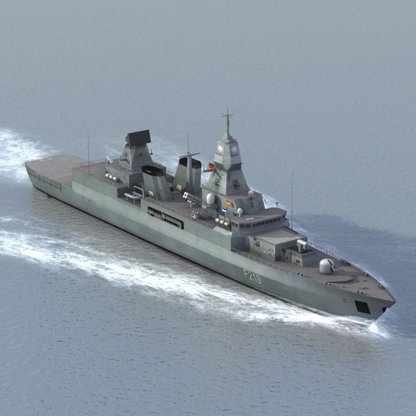 f124 class frigate german 3ds