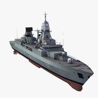F219 Sachsen Frigate